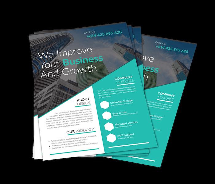 graphic designing service b2b sales arrow
